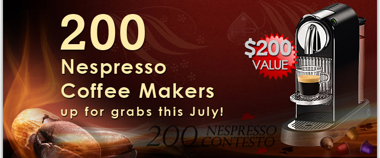 Win 200 Nespresso Coffe Makers