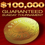 Hollywood Poker Sunday $ 100.000 Guaranteed Tournament