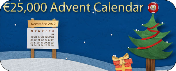 Christmas Bet-at-Home Poker Advent Calendar